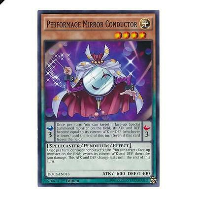 Yu-Gi-Oh! YuGiOh Performage Mirror Conductor - DOCS-EN015 - Common 1st Edition