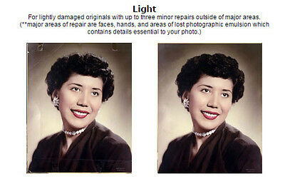 Photo Restoration $50 Gift Certificate for, Great gift idea