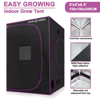 MEIZHI 600W LED Grow Lights Hydropolics Full Spectrum Veg Bloom For Indoor Plant
