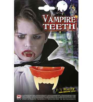 Soft Childrens Vampire Teeth Kids bite Fangs Halloween Fancy Dress Accessory