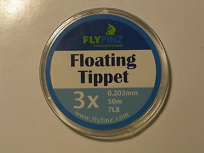 Floating Tippet (50m spool) available in a choice of line strengths