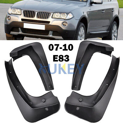 Fit For Bmw X3 E83 07-10 Molded Mudflaps Mud Flap Splash Guard Mudguards Fender