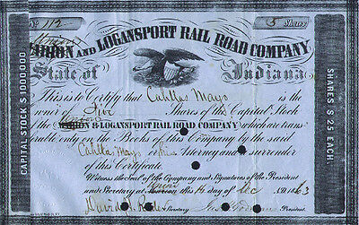 Union & Logansport Rail Road Company