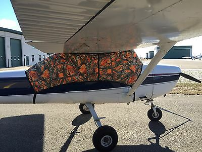 Cessna 182  Camouflage cabin and Windshield Covers 182