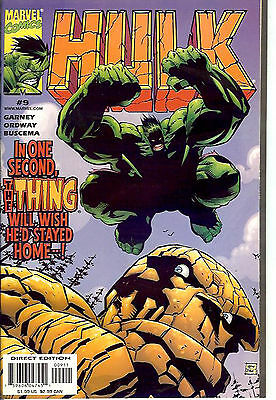 Hulk #9 (1999, vf+ 8.5) by Ron Garney and Jerry Ordway