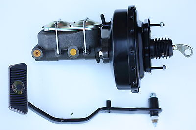 1967 68 69 70  Mustang Cougar Power brake booster master cylinder + pedal