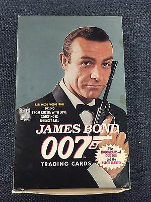 JAMES BOND 007 SEAN CONNERY ~ Series 1 ~1993 Eclipse Complete Box Trading Cards