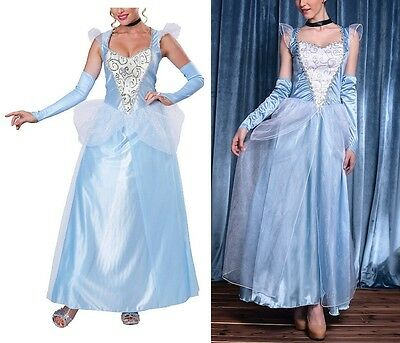 Cenerentola - Vestito Carnevale Donna Dress up Woman Cinderella Costume 8855012