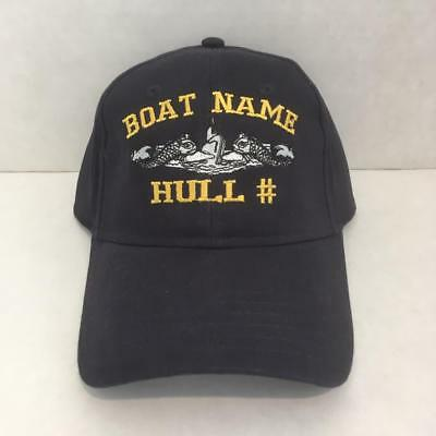 17a497b71515fe USS Nautilus SSN 571 - Embroidered Submarine Ball Cap - Otto - BC Patch