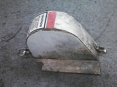 Ariens Vintage Steel Belt Cover with Clips from 624, 10M