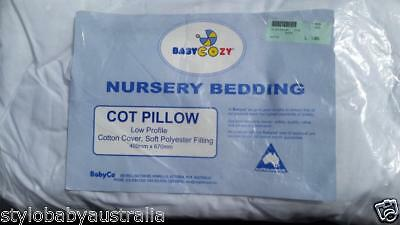 BabyCo Child /Toddler Cot Pillow 100% Cotton cover  - NEW IN PACKAGE