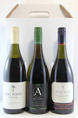 Dog Point Astrolabe Craggy Range Sauvignon Blanc 3 pack, New Zealand