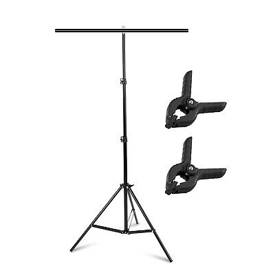 Photography 80*200cm PVC Backdrop Background Large Support Stand System Metal