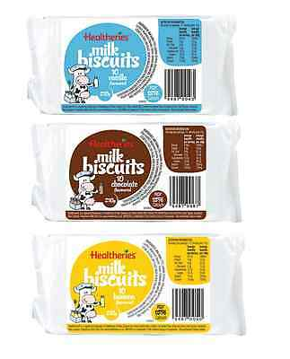Healtheries Milk Biscuits10s x 3 (Triple Pack)