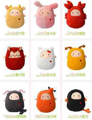 12 constellations Plush Electric Hot water bottle Hand Warmer Pillow winter Gift