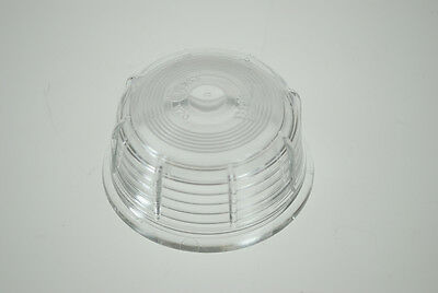 White Replacement lens for BRITAX marker light for Ifor Williams trailers etc