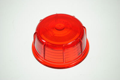 Red Replacement lens for BRITAX marker light for Ifor Williams trailers etc