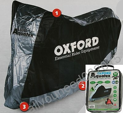 Oxford Aquatex Cover Outdoor & Indoor Motorbike Scooter Motorcycle size Medium M