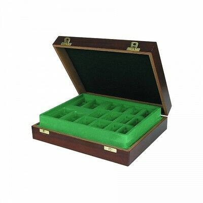 Chess figures Wooden Case Mahogany - 360 x 305 x 95 mm