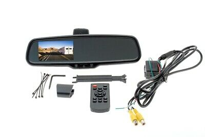 "Rear Camera Display Mirror, 4.3"" screen, 2 inputs"