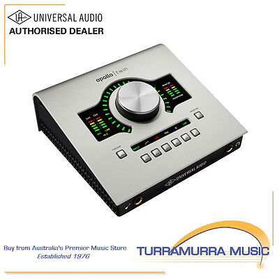Universal Audio Apollo Twin Duo audio interface with UAD-2 Processing