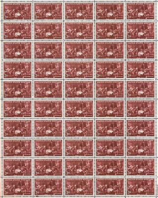 THE DOCTOR (1947) - #949 Full Mint -MNH- Sheet of 50 Vintage Postage Stamps