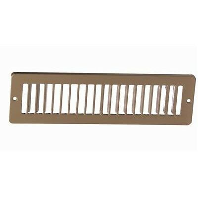 """12"""" x 2 Toe Space Grille - HVAC Vent Cover"""