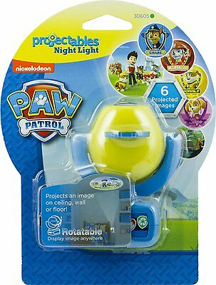 Nickelodeon Paw Patrol Projectables LED Plugin Night Light Six Different Images