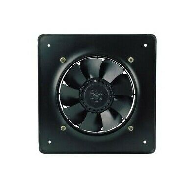 "Metal Industrial Extractor Fan Ducting Size - 200mm / 8"" 2300rpm 780m3/h EVB200"