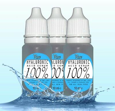 100% Pure HYALURONIC Acid Serum 30ml buy2get3 Introductory Offer