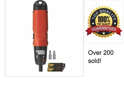 Black And Decker Cordless Screwdriver Power Tool Drill Driver Express Delivery