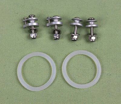 O ring type hatch fastening clips cowl locks For Rc boat