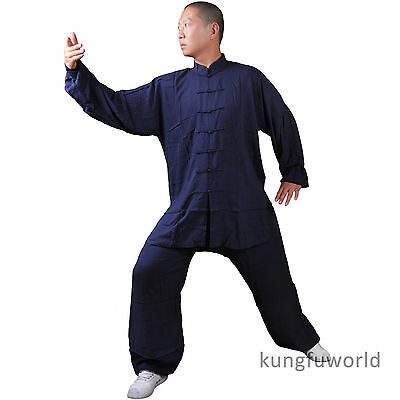 4 Colors Lightcotton Tai Chi Martial arts Suit Wing chun Kung fu Uniform