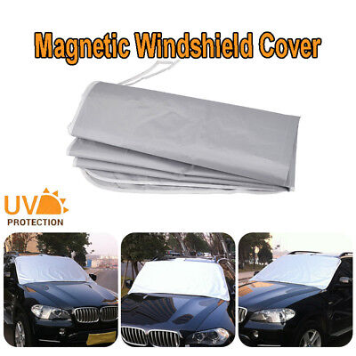 938e372a Magnetic Car Front Window Sun Shade Snow Ice Frost Windshield Protect Cover