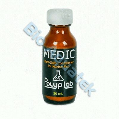 Polyp Lab Medic 30ml Marine & Freshwater Safe White Spot Ick Parasite Treatment