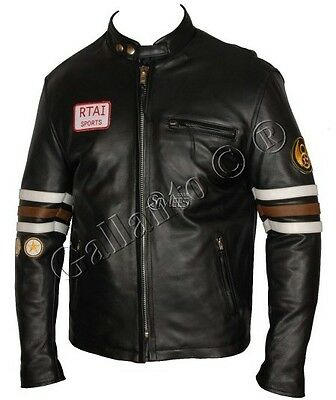 House M.D. Gregory Hugh Laurie Leather Jacket Cowhide Leather Jacket