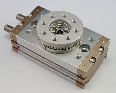 SMC Type Bore size:40mm MSQB200A Rotary Table/ Rack-and-Pinion Type Cylinder