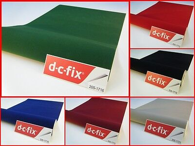 DC FIX Velour Contact Paper Felt Velvet Self Adhesive Stick Vinyl Film 2M x 45CM
