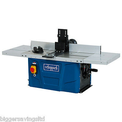 "Scheppach Hf50 Bench Top Router Table 1500W Spindle Moulder 1/4"" + 1/2"" Collet"