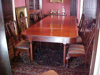 Sheraton Banquet Dining Table American Cherry C. 1820
