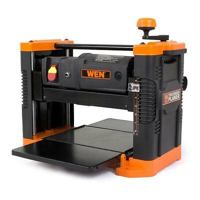 WEN 12-Amp 12.5 in. Corded Thickness Planer 12-Amp Motor Generates
