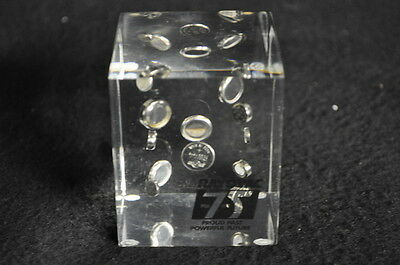 RARE - 1981 Vintage Ray-O-Vac Watch Battery Coin Cell Desk Display RayOVac