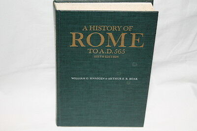 Italian A History of Rome to A.D. 565  Reference Book
