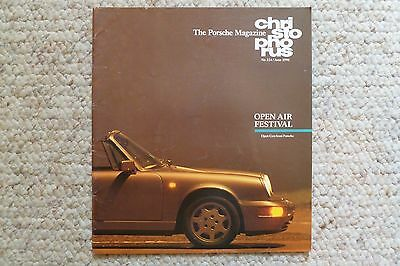 Porsche Christophorus Magazine English #224 July 1990 RARE!! Awesome L@@K