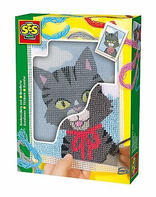 Kit broderie Chat - SES