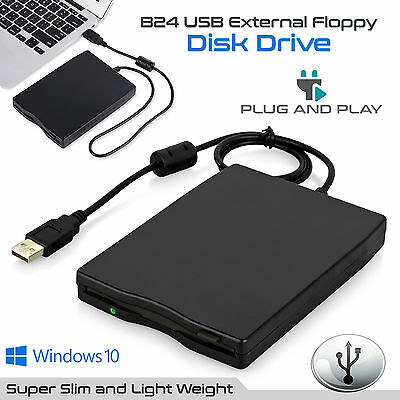 3.5′ Portable USB 2.0 External Floppy Disk Drive 1.44MB For Laptop PC Win 7/8