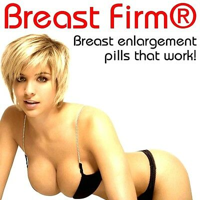 Breast Firm® by Herbal Health Team Increases Your Breast Size Safely 4 x Bottles