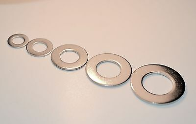 Flat Washers M5 M6 M8 M10 M12 Thin Type Washers Form B A2 Stainless Steel