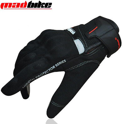 Touchscreen Gloves Motorcycle Motorbike Motocross Cycling Protective Full Gloves