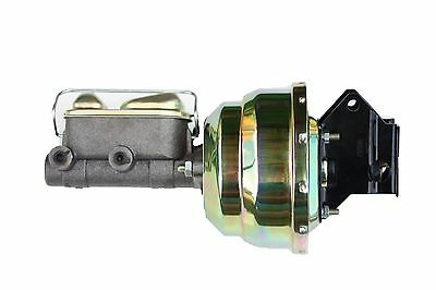 "1961-1972 8"" (zinc) Ford Galaxie Power brake booster & Ford Master cylinder G84"